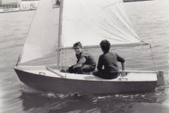 1965 - LJUBO IN DARKO GULIČ NA KADETU
