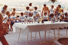 1976 - KRITERIJSKA REGATA BETINA - EKIPA KOPRA NA PODELITVI