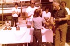 1980 - PRVENSTVO SLOVENIJE KOPER - BOJAN GLUHAK, MARJAN CERKVENIK, BOŠTJAN ANTONČIČ, BREDA ŠTIRN, STANISLAV FRAS, DAVID ANTONČIČ