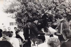 1980 - PULA - PODELITEV ZLATEGA JADRA - BRANKO PISTOTNIK, PETRIK PAVINČIČ