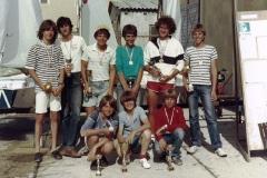 1984 – DP SFRJ KOPER - MARKO KOCJANČIČ, ANDREJ BORŠTNAR, ROBERT VRČON-FRKO, ALAN HAJDINJAK, MARKO PODLOGAR, BOŠTJAN ANTONČIČ, JURE OREL, TOMAŽ ČOPI, IGOR