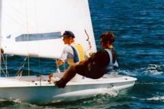 1997 - EVROPSKO MLADINSKO PRVENSTVO 470 V KOPRU - MIHA STAUT IN PETER HABJAN