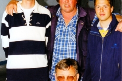1997 - EVROPSKO PRVENSTVO V KOPRU EVROPSKI PRVAKI - MIHA STAUT, BOGDAN OREL, PETER HABJAN IN MARJAN HABJAN