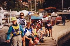 2000 - REGATA PORTOROŽ - LUKA KRIŽMAN, MIA VERZEL IN OSTALI